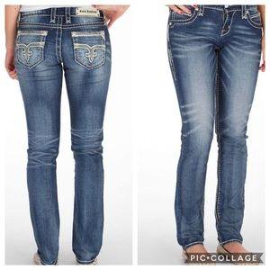 ROCK REVIVAL   Phyllis easy skinny jeans denim 29